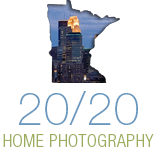 Real Estate Photography  | Minneapolis, MN | 20/20 Home Photography Logo